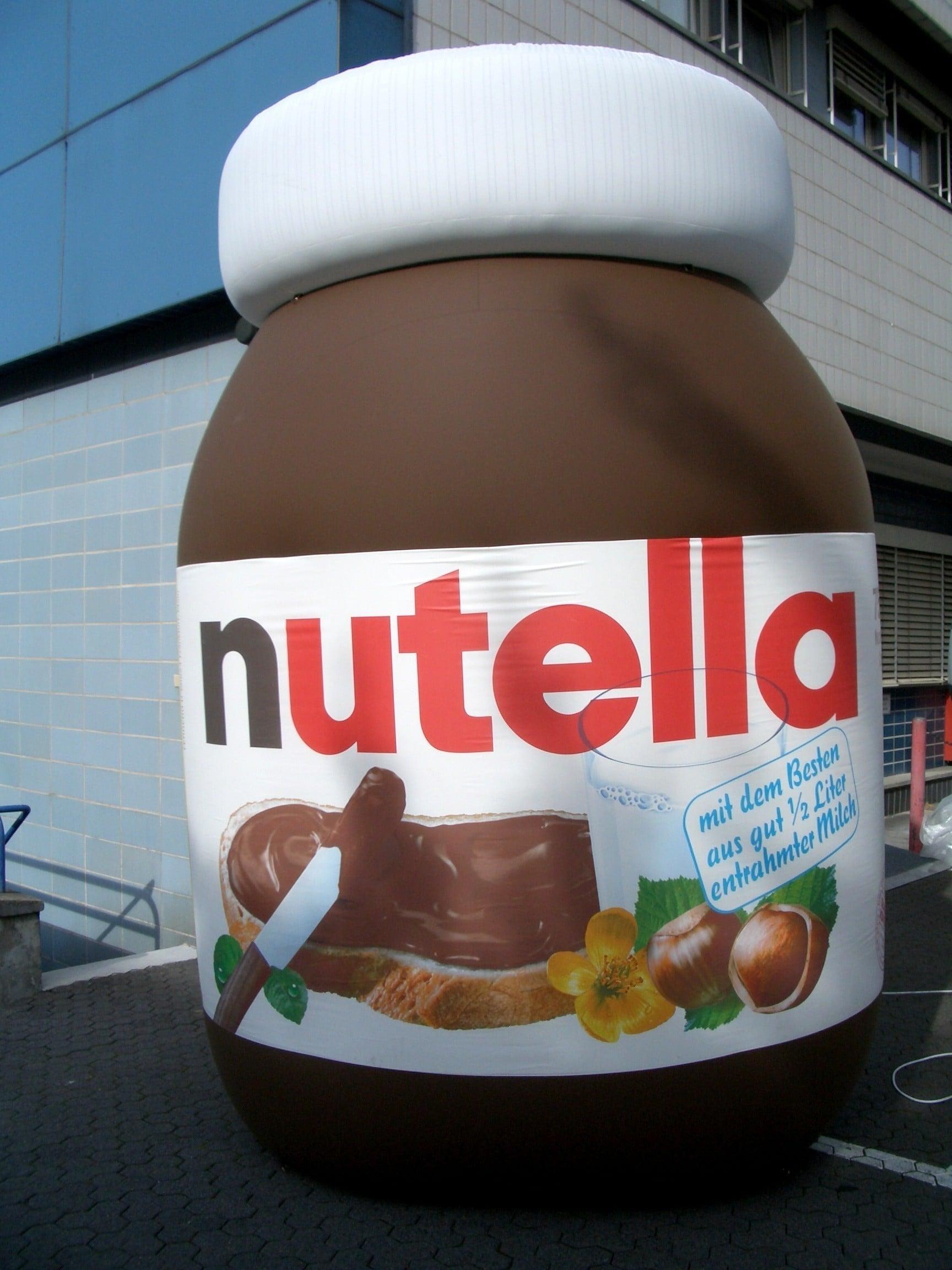 Répliques de produit Nutella