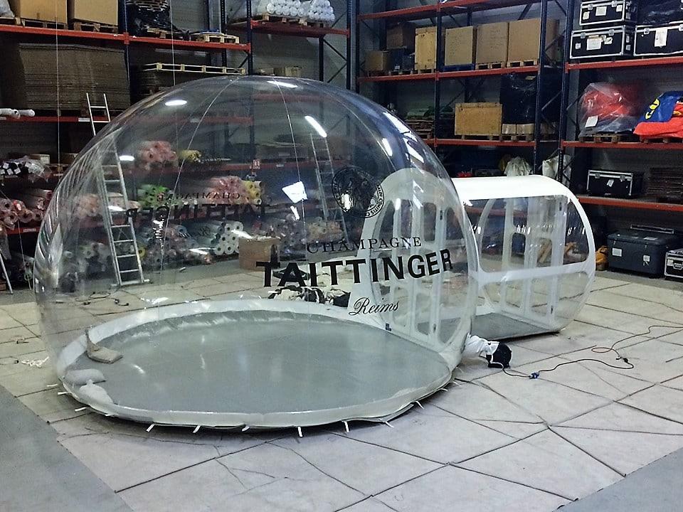 Vitribulles gonflables Ditechna Taittinger