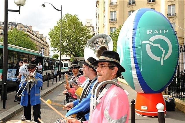 Répliques de produits gonflables RATP