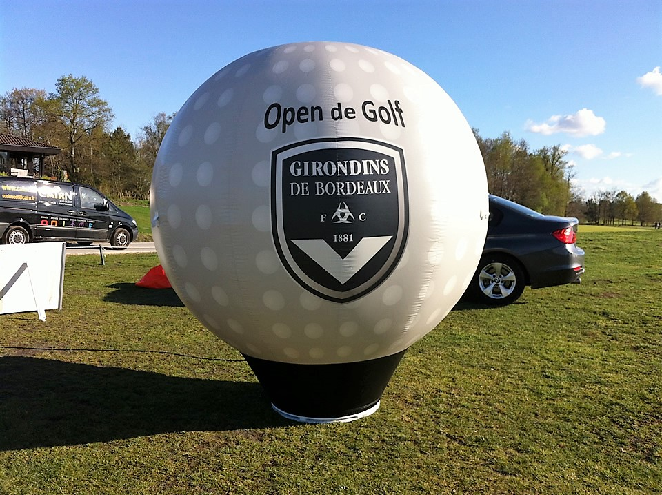 Répliques de produits gonflables open de Golf