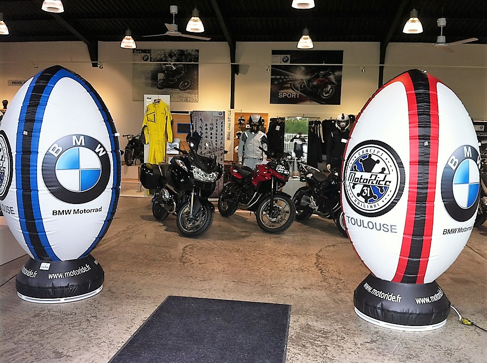Répliques de produits gonflables BMW