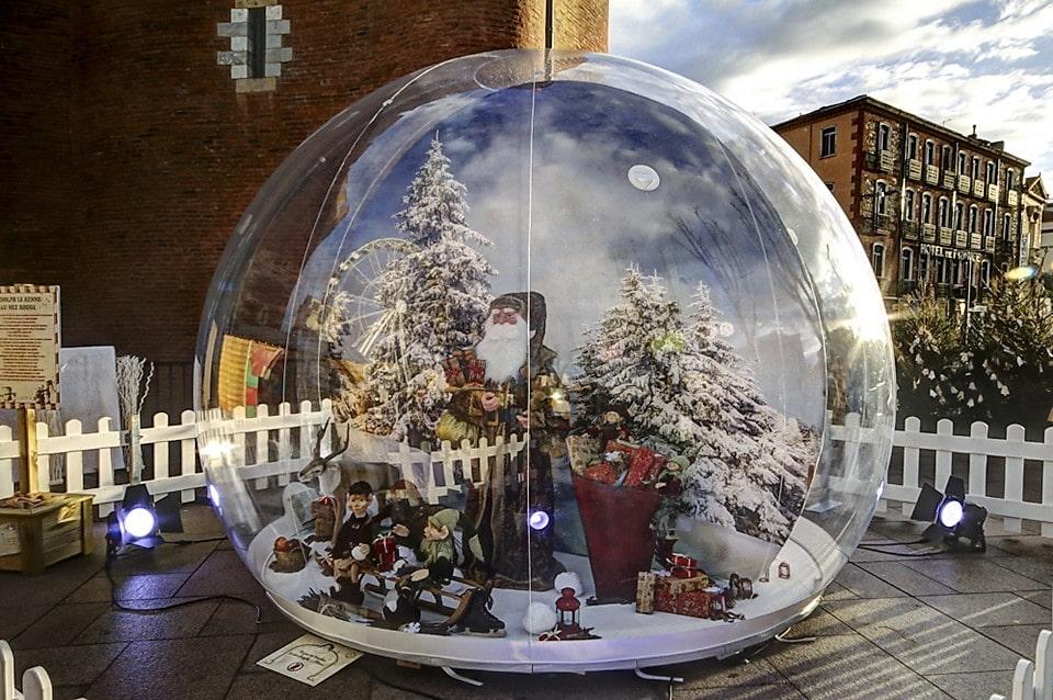 Vitribulles scènes de Noël